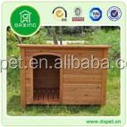 Classic and Flat Roof Wooden Dog Kennel Dog House DXDH001