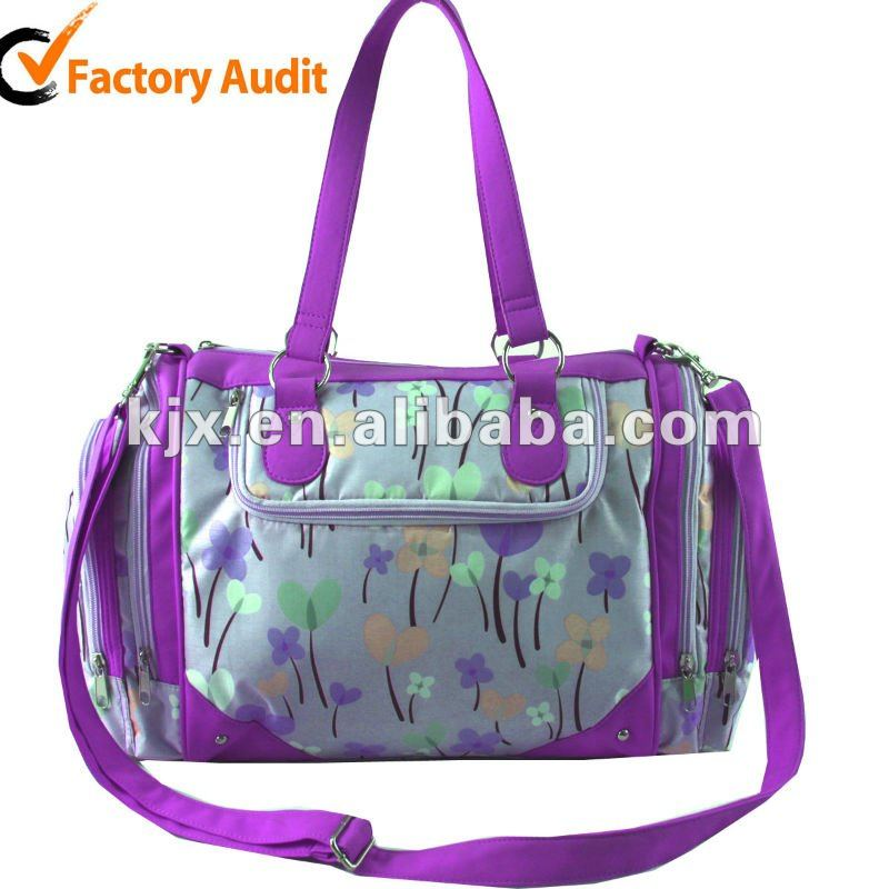 Hot Sale New Design Multifunctional Mommy Diaper PU Baby Bag