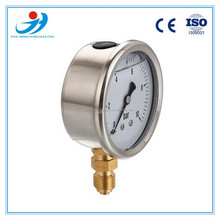 "2.5""(63mm) Stainless steel hydraulic oil pressure gauges 0-10bar"