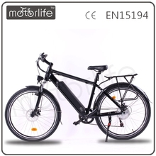 MOTORLIFE/OEM germany electric mountain bicycle with battery