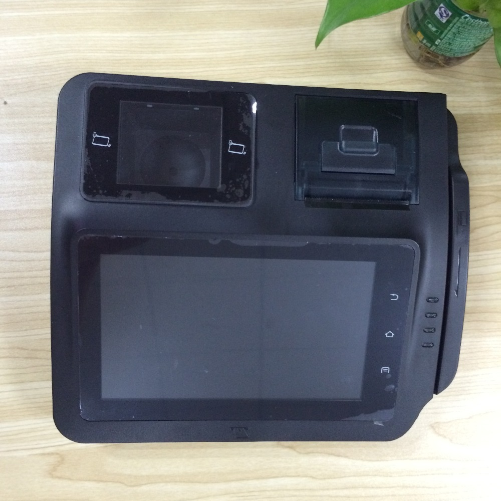 "M680S alibaba condition payment/min pos e-payment device/mini 7"" All in one Touch POS Terminal"