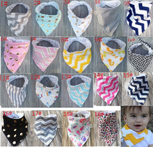 Wholesale Cotton Infant double layer baby bandana bib