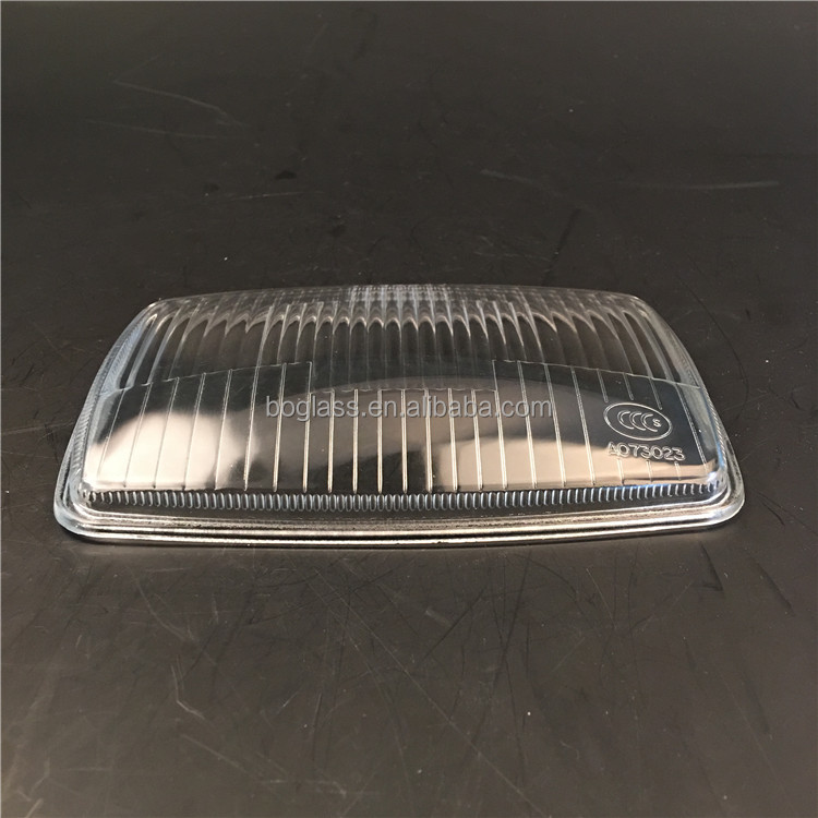 Headlight glass lens cover spare parts for car