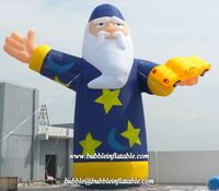 inflatable Magician model, customized inflatable character balloon for advertisment