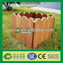 Wood Plastic Composite WPC Flower Bed Fencing