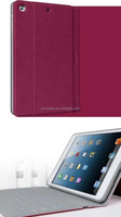 9.7inch tablet keyboard case,tablet pc keyboard leather case have wake and sleep function for ipad air