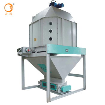 with low price rabbit feed pellet cooling equipment Hot-Sell Capacity 5-25 t/h for Industrial mass production