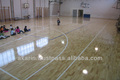 22mm Solid Hevea Rubberwood Sport Flooring