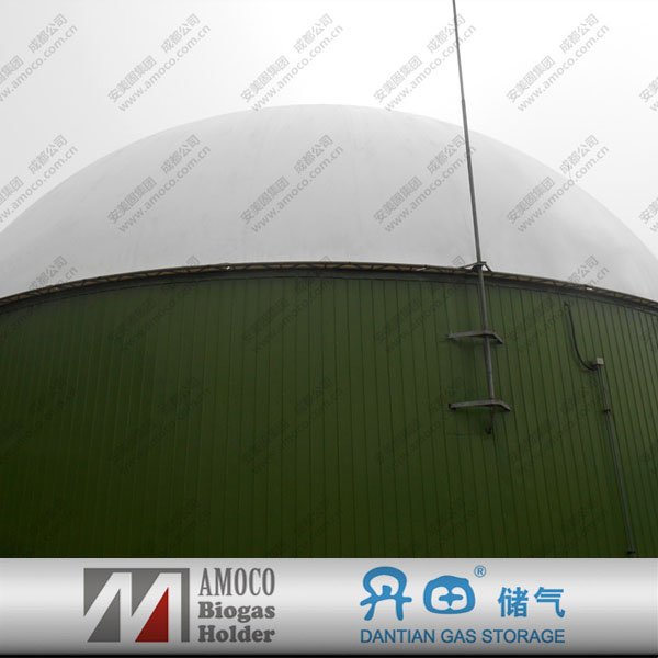 Good quality enamel steel septic tank from AMOCO