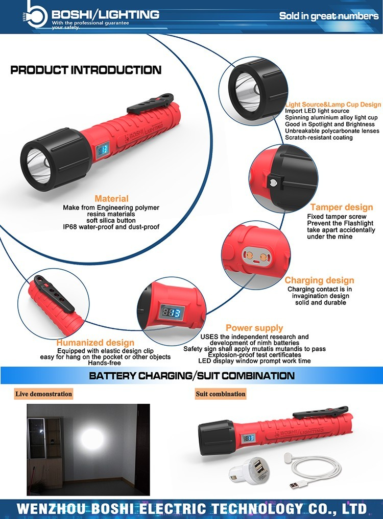 2017 factory manufacture rechargeable 3W electric torch high lumen led flashlight with USB charger 18650 lithium battery