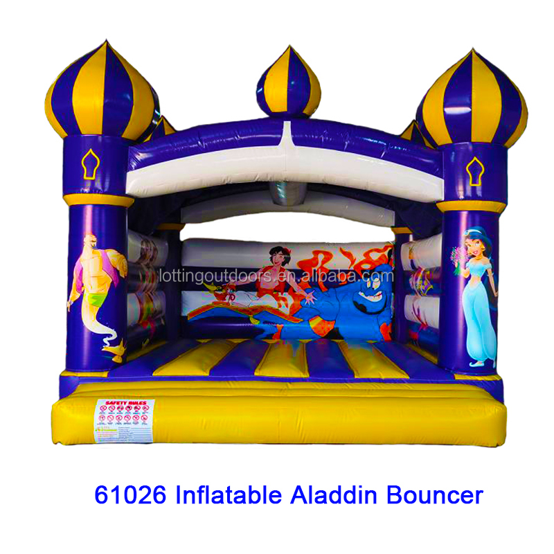 cheap inflatable bouncers for sale, small inflatable indoor bouncer, Inflatable Aladdin Bouncer