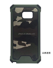 Hot selling for samsung note 8 camo case slim armor camouflage 3 in 1 silicone phone case