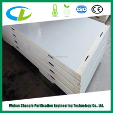 Building wall stainless steel PU sandwich panel for roof