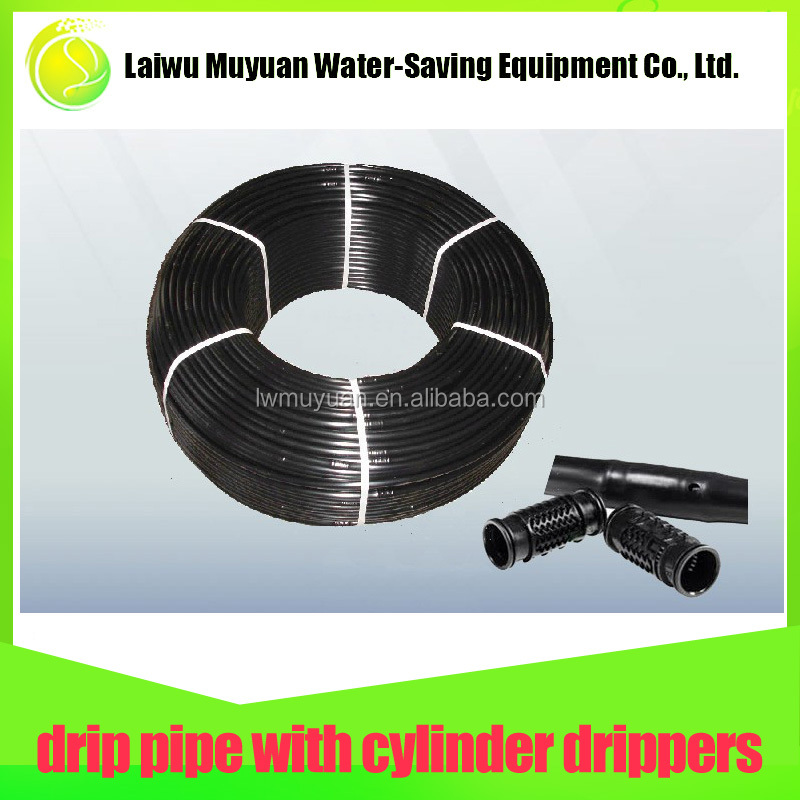 Durable economical efficient irrigation inner plastic dripper pipe, water tube