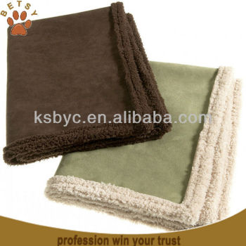 Faux Suede Dog Blanket