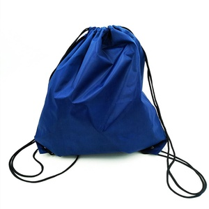 Simple Eco-friendly Polyester Drawstring Gym Bag