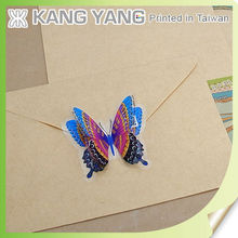Company Promotional Sticker- Attention Grabbing QR code 3D butterfly Sticker