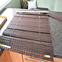 low-price painted bamboo chick blinds/bamboo chick blinds with high quality