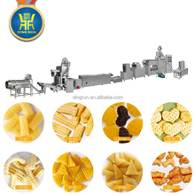 Triangle chip crispy fried rice crust 3d snacks making machine