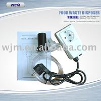 Food waste disposal air switch