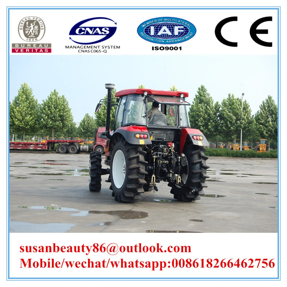 130 HP 4WD cheap farm tractor for sale