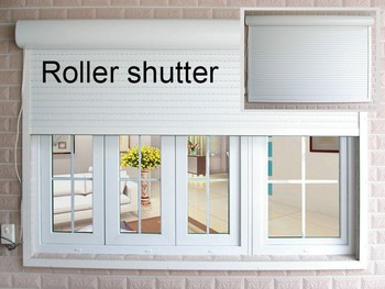 aluminum roller shutters design, hollow glass/laminated glass