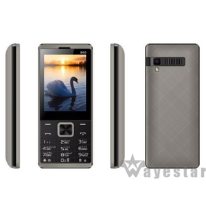 Low Cost Big Battery 2.8 inch 2500mah Mobile Techno Cell phone