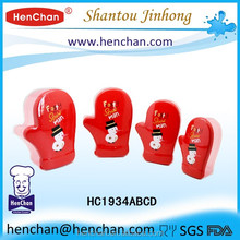 Christmas promotional PP food grade microwave safe stackable food containers with lids