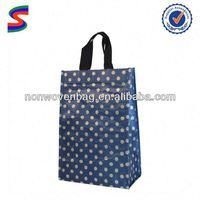 luxury brand paper bag polka dot paper bag