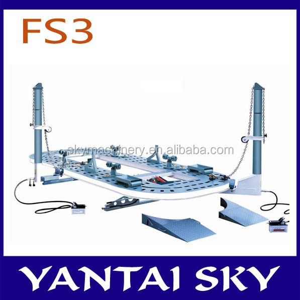 FS3 hydraulic tower/garage/auto collision repair tools/auto body frame machine