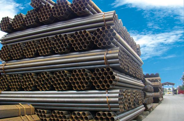 En10255 hot dip galvanizing round steel tube