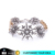 2017 Trending Products White Crystal Snowflame Bracelets for Women