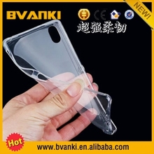 Factory low price high quality for sony xperia z2 case cover Ultra Thin 0.3mm Clear Soft TPU Back Cover For SONY Xperia Z2 Case
