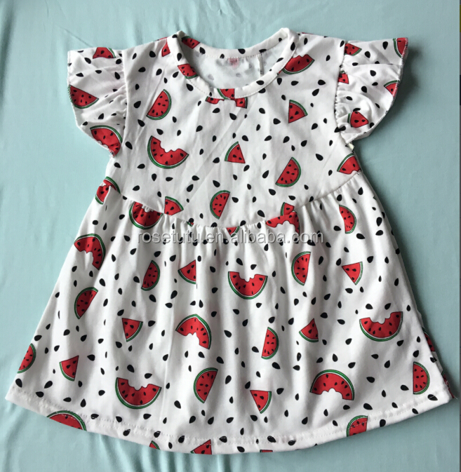 Cute girls summer frock designs 2016 beautiful gowns for kids online baby boutique wholesale raglan sleeve giggle moon dress