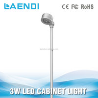 2014 High Output 3W Portable standing Led Cabinet Light & Jewellery Light