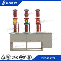 ZW7 high voltage 33kv outdoor vacuum circuit breaker with current transformer