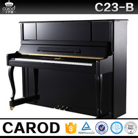 mini piano acoustic wooden piano size with piano cover and chair