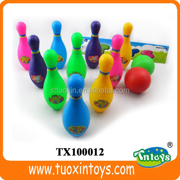 Plastic bowling game bowling set for adult