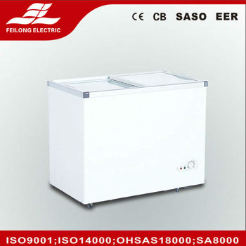 260L SD-260Q Commercial glass door freezer