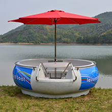 rotational molding plastic Barbecue boat made by PE