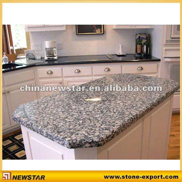 spray white granite island kitchen countertops - buy spray white