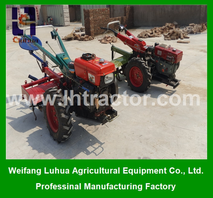 farm walking tractors small tractors agriculture machine 10HP 8KW for sale