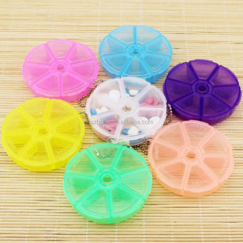 Mini Plastic Medicine holder case Portable Medical Pill Cases Tablet Medicine Storage Dispenser solitters box For Travel