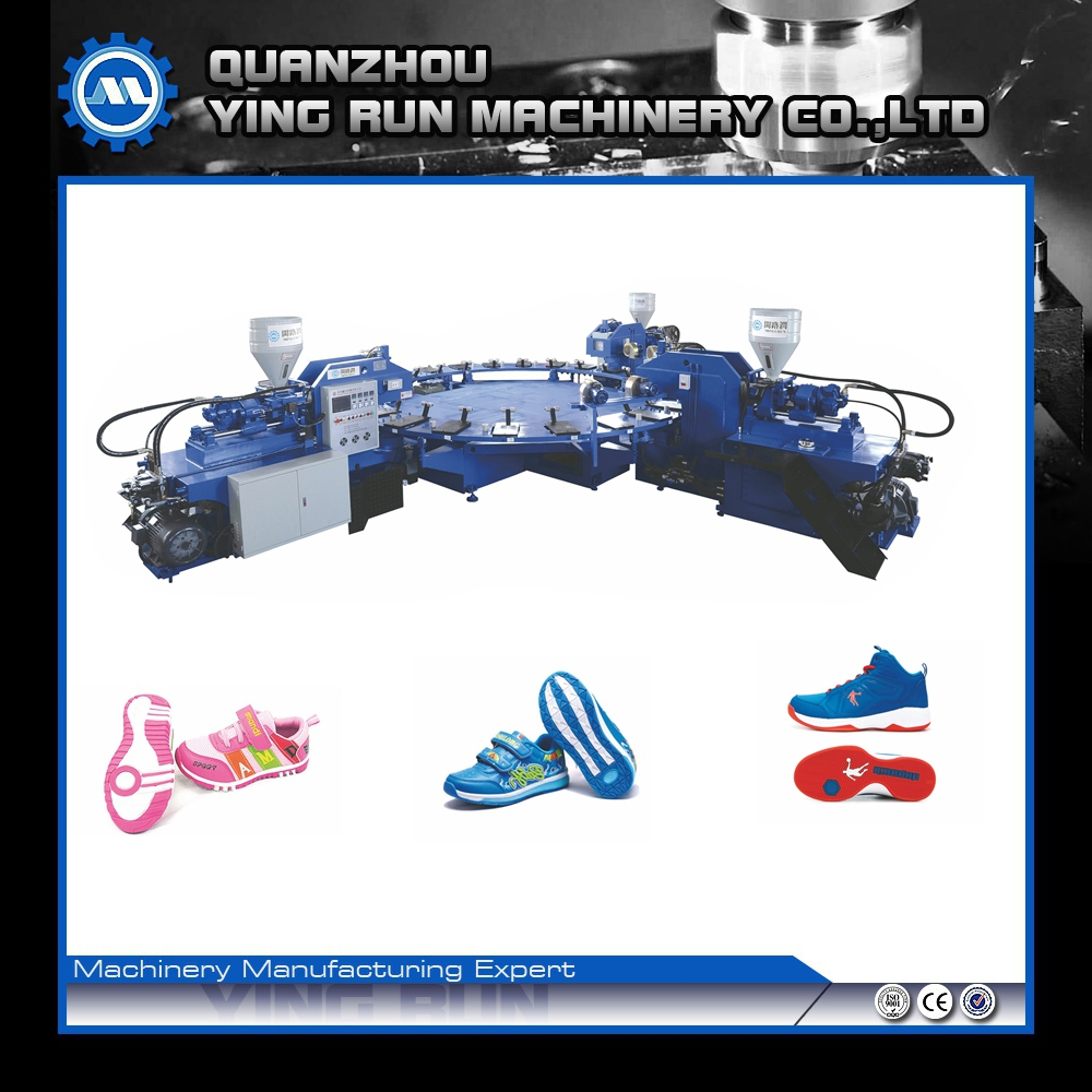 shoes making machine for injection TPR sole
