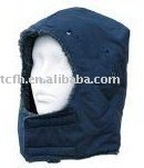 Hoods for keeping warm of safety helmet