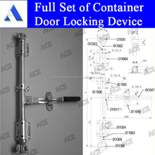 Container door locking device for sale