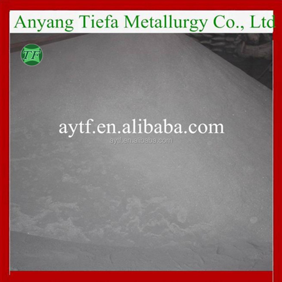 China Iron Metal Atomized Ferro Silicon /FeSi 75 powder manufacturer/supplier
