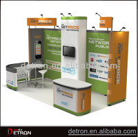 Top Design and good quality exhibition stall stands display ZH-2014408