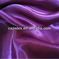 100 polyester satin for garment lining