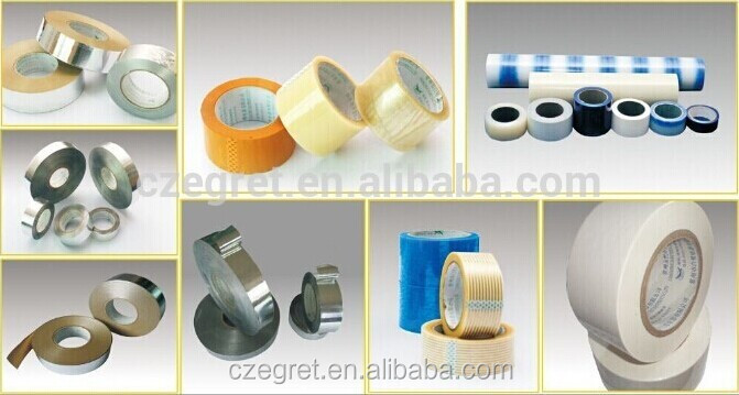 aluminum foil tape with urethane coating high quality for refrigerator system